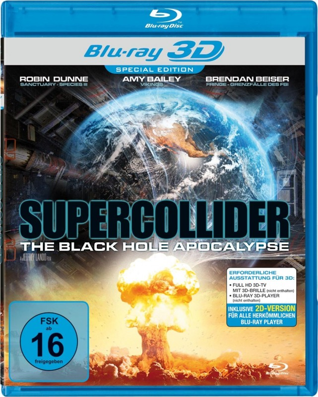 Supercollider - (Real 3D+2D Blu-ray) OVP