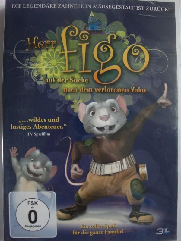 Herr Figo auf der Suche nach dem verlorenen Zahn - Trickfilm