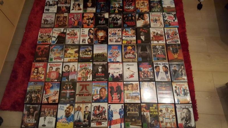 MEGA DVD Paket 70 DVDs Sammlung Angebot!
