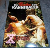 X-Rated Taschenbildband Rache der Kannibalen Cannibal Ferox