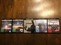 5 x UHD 4K Filme Sammlung