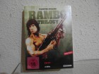 Rambo Trilogy 3 DVDs Uncut Sylvester Stallone