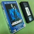 THE JUDGEMENT Leslie Nielsen / Tess Harper UK-VHS