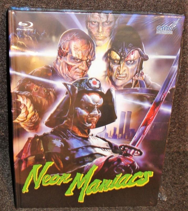 NEON MANIACS lim. 333 CMV Mediabook (NEU/ OVP)
