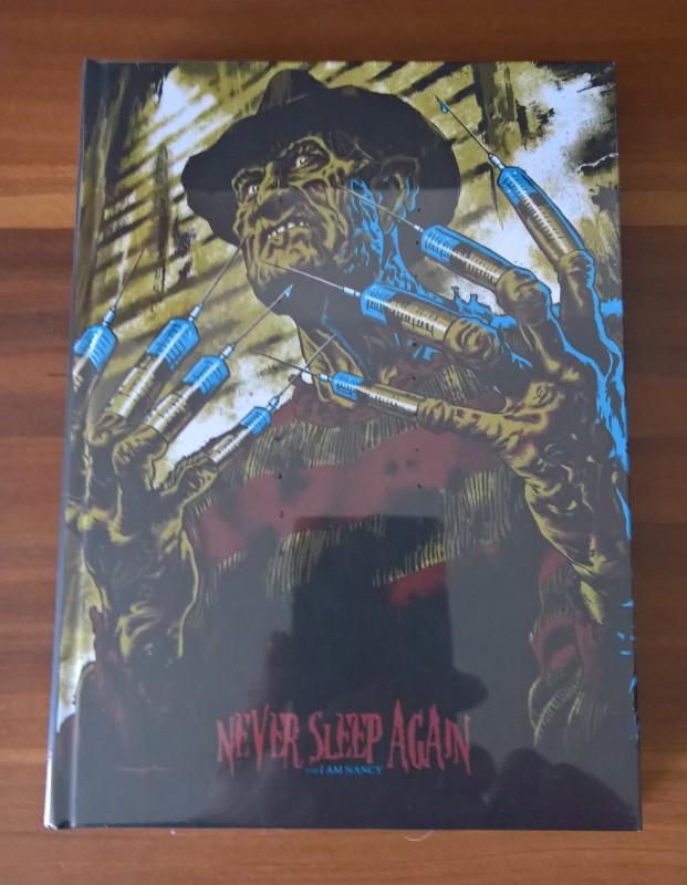 Never Sleep Again Limited Mediabook Birnenblatt  Neu & OVP