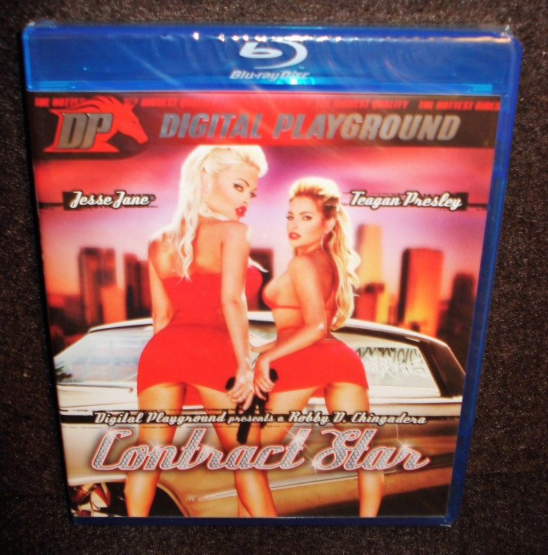 CONTRACT STAR Digital Playground Blu-ray NEU/OVP