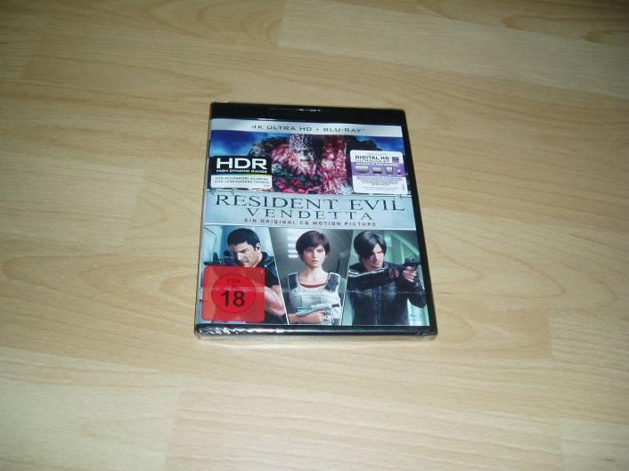 Resident Evil: Vendetta - 4K Ultra HD + Blu-ray - NEU+OVP