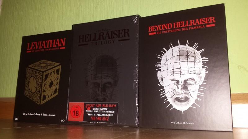 Hellraiser - Turbine Trilogy Black Box - Neu - no 84 XT NSM