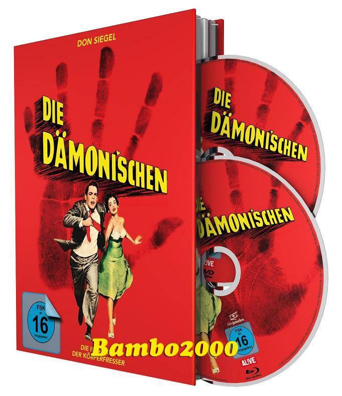 *DIE DÄMONISCHEN *UNCUT* DVD+BLU-RAY MEDIABOOK *NEU/OVP*