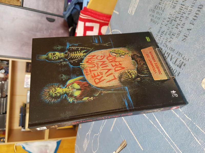 Return of the living Dead; Mediabook mit DVD