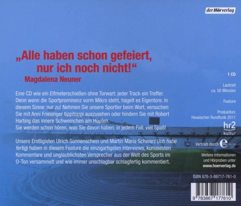 Keiner Scheisst Den Anderen An! Audio CD OVP
