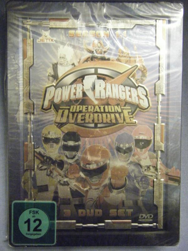 Power Rangers Operation Overdrive STEELBOOK NEU
