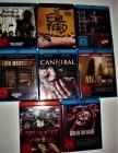 Blu Ray Filmsammlung  Horror&Splatter&Cannibal Kannibalen