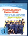 POLICE ACADEMY 1 & 2 2x Blu-ray Box Action Fun Klassiker