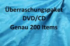Überraschungspaket DVD/CD Genau 200 Items