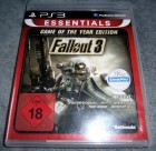 Fallout 3 Game of the Year Edition Essentials PS3 GOTY