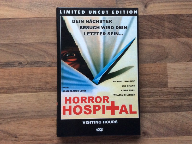 HORROR HOSPITAL - LIMITED UNCUT EDITION - GROSSE HARTBOX 666