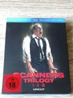SCANNERS 1,2,3, TRILOGY - BLURAY IM SCHUBER - UNCUT