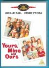 Deine, meine, unsere DVD Import mit deutscher Tonspur NEUW