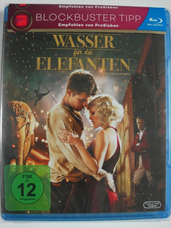 Wasser für die Elefanten - Robert Pattinson, Christoph Waltz