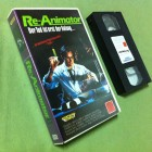 Re-Animator VHS Lightning Video