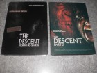 THE DESCENT 1 & 2 UNCUT 3DVDs Steelbooks WIE NEU