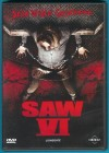 SAW VI - gekürzte Fassung DVD Tobin Bell fast NEUWERTIG