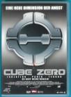 Cube Zero - Uncut DVD David Huband fast NEUWERTIG