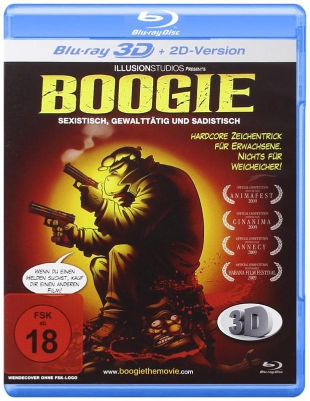 Boogie - Sexistisch, gewalttätig und sadistisch - 3D BR