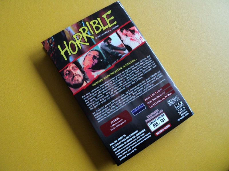 Horrible (Absurd) - gr. Hartbox Limited - Uncut