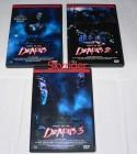 Night of the Demons 1 bis 3 DVD - 3 DVD's -