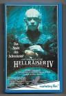 HELLRAISER IV - Bloodline, Vhs