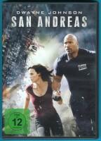 San Andreas DVD Dwayne Johnson, Alexandra Daddario NEUWERTIG