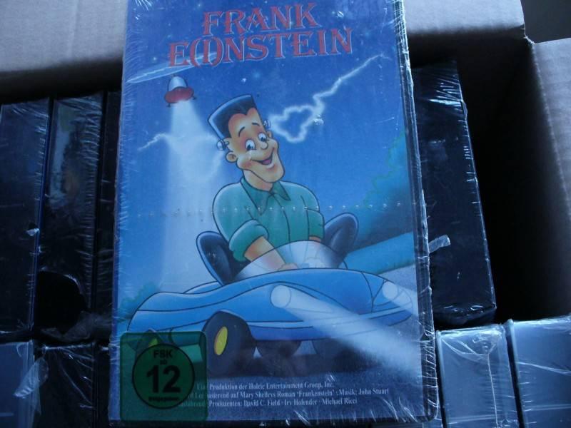 20 Videos FRANKE(I)NSTEIN ...  Originalverpackt !!!