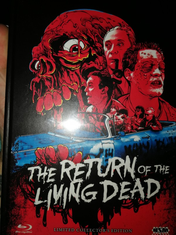 Return of the living dead Mediabook rares Cover C neu ovp