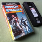 ROBOCOP 1 + 2 / Limited Edition Double Bill / UK-VHS