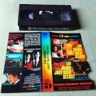 Ein Mann jagt sich selbst VHS Glasbox / Atlas Videothek