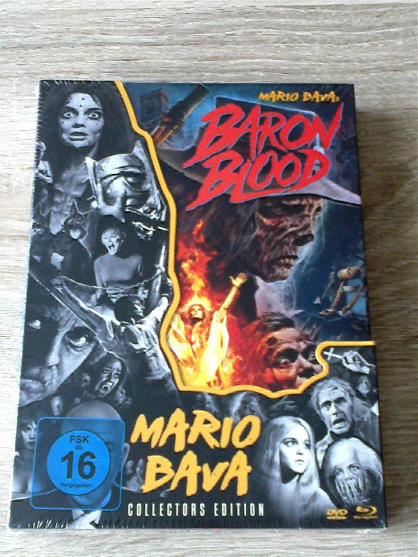BARON BLOOD (MARIO BAVA)COLLECTORS EDITION - UNCUT