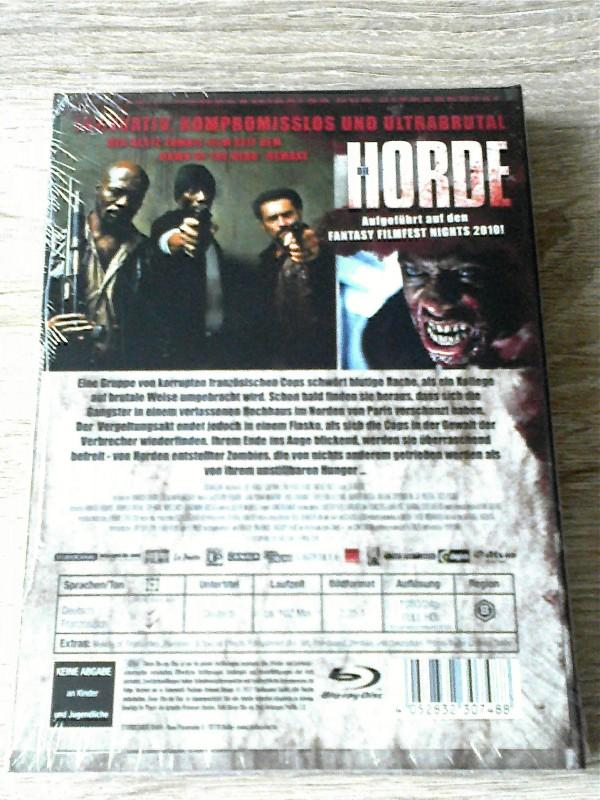 DIE HORDE (ZOMBIE) - LIM.MEDIABOOK D (500 STCK.) OVP - UNCUT