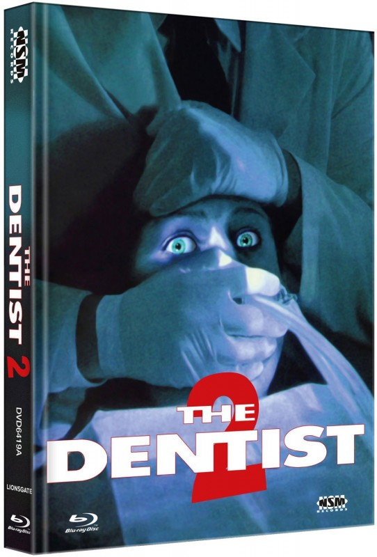 The Dentist 2 - Mediabook Cover A (Blu Ray+DVD) NEU/OVP