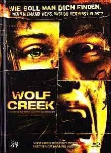 Wolf Creek (uncut) Lim 222 BD + DVD-Signiert gr BB (X)