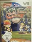 Little League World Series Baseball für Wii ACTIVISION NEU