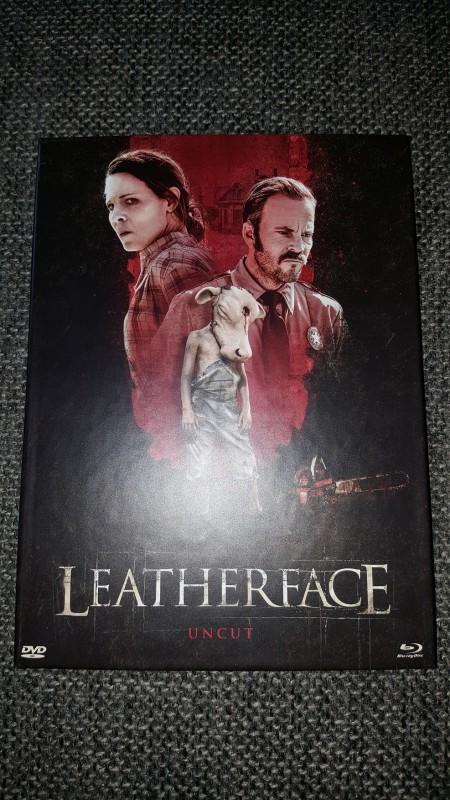 LEATHERFACE (Mediabook, cover A, wie neu)