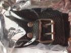 Halsband mit Leine im Lederlook