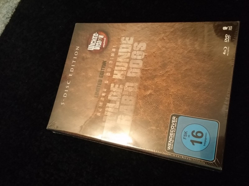 Wilde Hunde -Rabid Dogs -Original/Remake -5 Disc-Amazon-OVP!