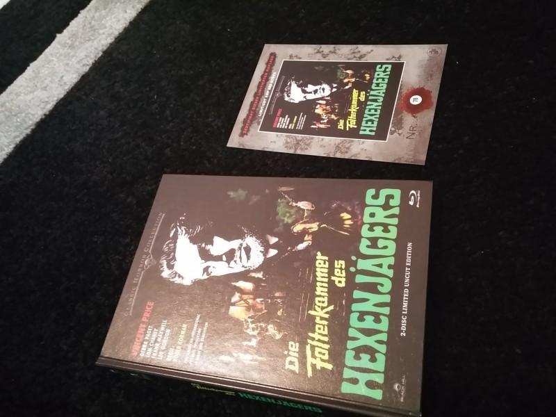Die Folterkammer des Hexenjägers  - Mediabook -  78  / 250
