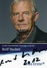 Rolf Becker ☆ Originalautogramm ☆
