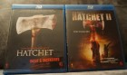 Hatchet Uncut & Uncensored + Hatchet 2 - Bluray SET - Top