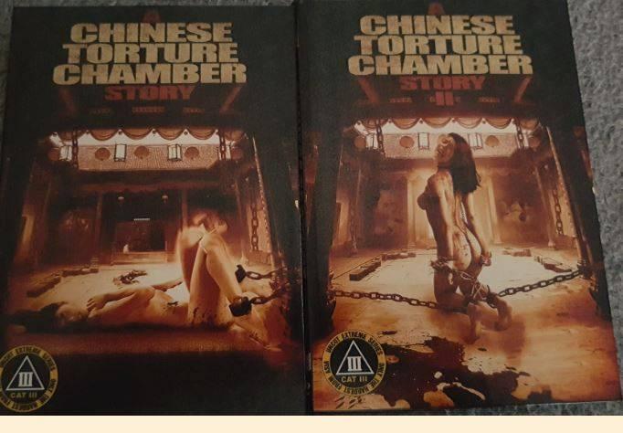 Chinese Torture Chamber-1&2 -DVD- Lim./CAT III Paket