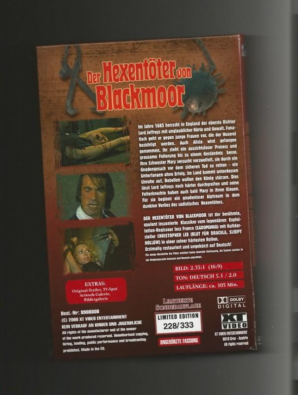 DER HEXENTÖTER VON BLACKMOOR + XT + COVER B + Nr. 228 / 333